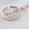 Boucles d'oreilles anneaux 01A2522