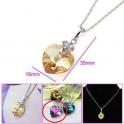 Pendentif Coeur Lila en cristal 01C3312