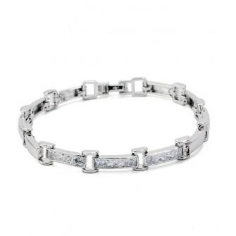 Bracelet et ses pierres White 01D1069