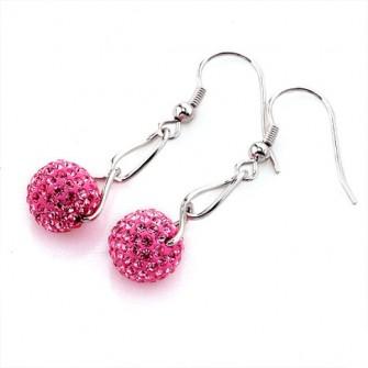 Boucles d'oreilles Chamballa Rose 01A2582